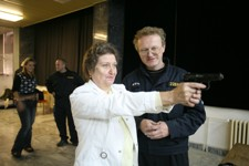 Věnceslava Dezortová Střílení s pistolí