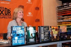 Kathy Reichsová Praha 2012