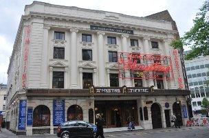 Londýnské St. Martin's Theatre, foto Pavla Fuksová (Společnost Agathy Christie)