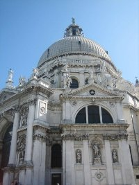 Bazilika Santa Maria della Salutte, Benátky © Anna Zavadilová