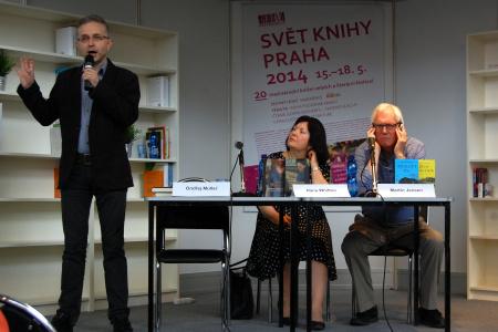 Martin Jensen na veletrhu Svět knihy
