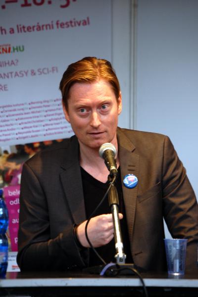 Anders de la Motte, Svět knihy 2014