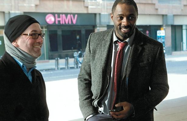 Neil Cros a Idris Elba (televizní Luther)